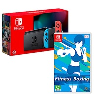任天堂 Nintendo Switch 主機 電池持續加長 減重拳擊 組合 台灣公司貨
