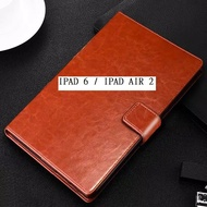 Flip Cover Ipad 6 / Ipad Air 2 Cover Wallet Leater Case / Stending Cover