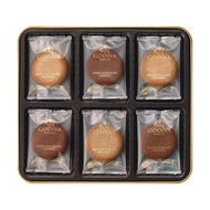 GODIVA 牛奶/黑巧克力餅乾禮盒 18片裝 2967741