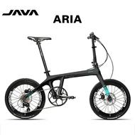 🔥In Stock🔥JAVA Foldable Bicycle ARIA Carbon Fiber Folding Bike 18 Speed Double Disc Brake X1