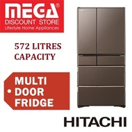 HITACHI R-WXC740KS 572L 6 DOORS REFRIGERATOR / FRIDGE / FREE AIR PURIFIER + $100 VOUCHER