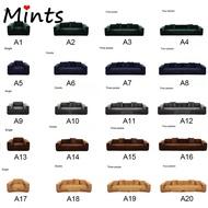 [Mint] 1/2/3/4 ที่นั่งผ้า Plush ยืดผ้าคลุมโซฟา Solid L-shaped ผ้าคลุมโซฟาสำหรับห้องนั่งเล่นผ้าคลุมโซฟา