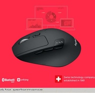 Logitech M720 Triathalon Multi-Device Wireless Mouse New