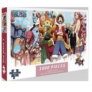 [Ready stock] ONE PIECE /NARUTO puzzle 1000 pcs puzzles jigsaw puzzle adult decompression puzzle creative gift super difficult small puzzle educational puzzle Children's puzzle jigsaw