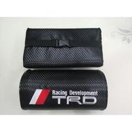 現貨 TRD 碳纖維 頭枕 枕頭 Toyota altis yaris sienta CHR camry AURIS