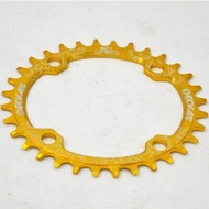 104bcd 32t 34t 36t 38t Crankset Tooth Plate Parts Bicycle Crankset Deckas Oval Chain-rings Mtb Mountain Bike Bicycle Chain Ring
