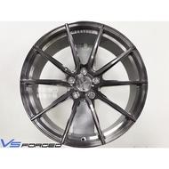【甜甜圈】耀麒鋁圈VERTINI® VS01 19吋5H120 全刷灰透 鍛造鋁圈 BMW F10/F30適用