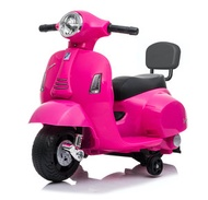 Mini Vespa - 兒童玩具電單車GTS - 粉紅