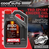 Motul 8100 X-cess 5W40 5L 8100 Engine Lubricants - 100% Synthetic