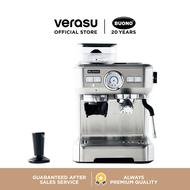 BUONO เครื่องชงกาแฟเอสเพรสโซ่ พร้อมที่บดเมล็ดกาแฟ รุ่น BUO-265701 VERASU วีรสุ เครื่องชงกาแฟ เครื่องทำกาแฟ