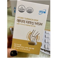 Atomy Korean Msm Care Bone Joint Health Care Products 128 Pcs