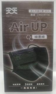 天天醫療口罩-植墨綠/30入