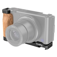 ..  SmallRig 2936 鋁合金 L型快板 含木製手柄 for Sony ZV-1 ZV1 豎拍 快拆板 含冷靴座 Arca 公司貨