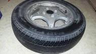 豐田 TOYOTA TERCEL 95-00年 原廠 中古鋁圈 13吋 一個 可當備胎175/70R13 1200元