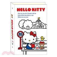 210.A6 三麗鷗布質6孔夾 Hello Kitty站牌