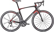 Worth having - Ms Male Road,22-speed ultra-light carbon fiber,700C hybrid road bike wheel movement (Color:Red) (Color : Red)