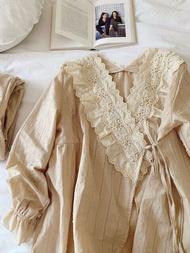 Cotton Pajamas Women Casual Fashion Pajamas Set INS Lady Sleepwear Pajamas for Women