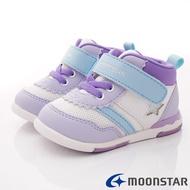 日本月星Moonstar機能童鞋 HI系列 頂級學步款 959紫白寶寶段)