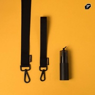 🔥NEW🔥 สายคล้องคอ + ขวดสเปรย์เปล่า สีดำ 15 ml