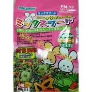 PettyMan、PM-13、迷你兔營養主食飼料、寵物兔飼料、除尿臭高嗜口性、2.4kg