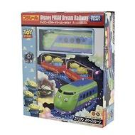 大賀屋 日貨 三眼怪 可愛列車 火車 迪士尼 汽車 玩具 TAKARA TOMY 玩具總動員 正版 L000109546