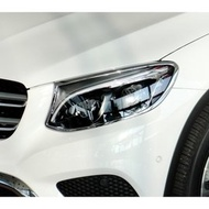 IDFR-汽車精品 BENZ GLC X253 GLC250 GLC300 15-UP 鍍鉻大燈框