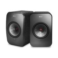 【KEF】英國 KEF LSX Hi-Fi 無線 WIFI 藍芽喇叭 黑色 內建擴大機(★還原音樂空間感 層次感 臨場感★)