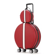 แฟชั่นรอบชุดกระเป๋าเดินทางล้อลากพร้อมยอดนิยมวงกลมกระเป๋าเดินทางแบบลาก18นิ้ว Boarding กระเป๋าสัมภาระ Ins กระเป๋าลาก