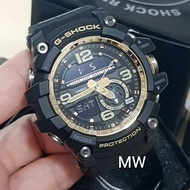 Casio G-Shock Mudmaster Twin Sensor Mens Watch GG-1000GB-1A Black Gold Series