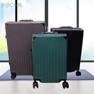 NJCAR LZD MALL WL กระเป๋าโครงอลูมิเนียม ขนาด 20 /24 /28 นิ้ว กระเป๋าเดินทางอลูมิเนียม กระเป๋าเดินทางล้อลาก กระเป๋าเดินทาง