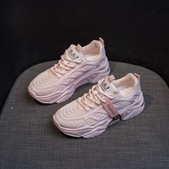 รองเท้าคัชชู ผู้หญิงรองเท้าสไตล์เกาหลีแฟชั่นสบายระบายอากาศรองเท้าผ้าใบรองเท้าสำหรับผู้หญิงแพลตฟอร์มรองเท้ากีฬา 2020 ฤดูร้อนใหม่