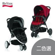 Britax B-Agile單手收豪華三輪手推車(兩色)
