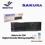 Original Sakura Av-739 Digital Karaoke Mixing Amplifier