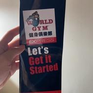 World gym 台南中華西會籍轉讓