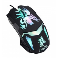炫彩電競專用滑鼠(電競鼠炫光鼠人體工學鼠快速DPI定位)電競專用滑鼠KINYO)GKM-805