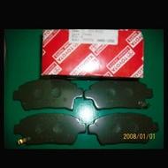 TOYOTA ALTIS 01-07 VIOS 03-13 原廠前煞車來令片1350 後煞車來令片 1100