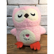 現貨 ❤ 【NANANA小舖】娃娃機商品-可愛玩偶俏皮粉色貓頭鷹造型娃娃   台主 超愛夾