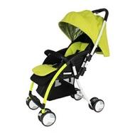 L.A. Baby 美國加州貝比 超輕量 雙向嬰兒手推車-綠色★衛立兒生活館★