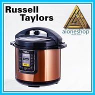 Russell Taylors Pressure Cooker Stainless Steel Pot Rice Cooker (6L) PC-60