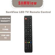 SamView LED TV Remote Control