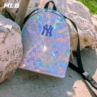 【MLB】雷射老花圖案 紐約洋基隊 後背包 小背包(32BG04011-50M)