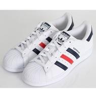 正品 Adidas Original Superstar 拼藍紅 貝殼頭 金標 男女款 S79208