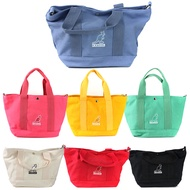 KANGOL【69553005-】英國袋鼠 手提袋 手提包 側背包 協背包 兩用 帆布包 寬口 七種顏色
