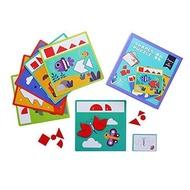 Totty Books (3 - 12 ขวบ) ตัวต่อ บล๊อกไม้ แทนแกรม Shape Puzzle (Mideer) ของเล่นเด็ก ของเล่นเด็กผญ ของเล่นเด็กชาย ของเล่นฝึกสมอง ของเล่นเสริมiq