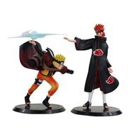 TWCEJE168 Kids Toys 18ซม.ภาพอนิเมะ Uchiha Figure ฟิกเกอร์ PVC ของเล่น Uzumaki Naruto Grandista ความสัมพันธ์ Shinobi Uzumaki Uchiha Naruto Figure