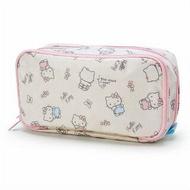 大賀屋 Hello Kitty 收納包 多層次 收納袋 筆袋 化妝包 KT 凱蒂貓 日貨 正版 授權 J00011036
