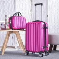 20''24/28นิ้ว ABS กระเป๋าเดินทางแบบลากกระเป๋าเดินทางรถเข็นโดยสารชุดกระเป๋าเดินทาง Cabin กระเป๋าเดินทางผู้หญิงกระเป๋าเดินทางคิตตี้บนล้อใหญ่