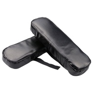 2PCS Armrest Pads, Arm Cushion Universal Arm Rest Pads with Adjustable Straps, Elbow Pillow Memory Foam Arm Chair Covers
