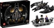 玩具研究中心 樂高 LEGO 積木 DC 超級英雄 系列 1989 蝙蝠戰機 76161 現貨代理