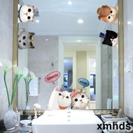 Window Stickers Glass Mirror Stickers Mirror Bathroom Mirror Decorative Wall Stickers